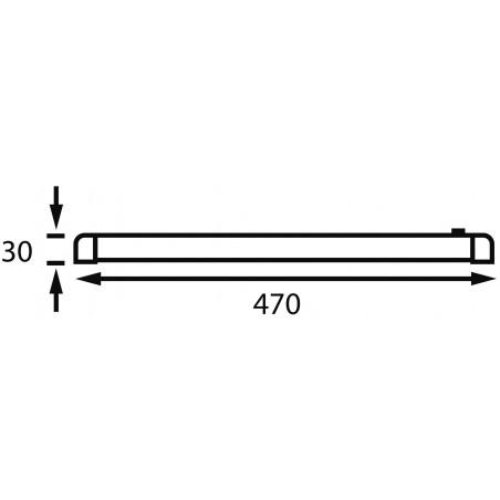 Eclairage sur rail rotatif Turnstripe