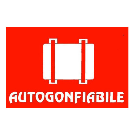 Autocollant Autogonflable