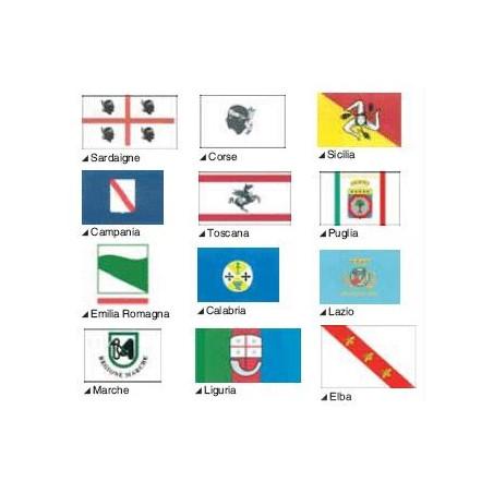 Pavillons régionaux italiens