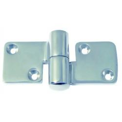 Charnière inox amovible 5 mm
