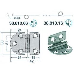 Charnière 2 mm 42x30