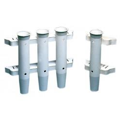 Porte-cannes multiples plastique