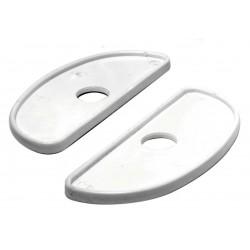 Base blanche pour taquets