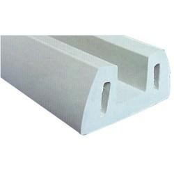 Profilé PVC gris 72x30mm