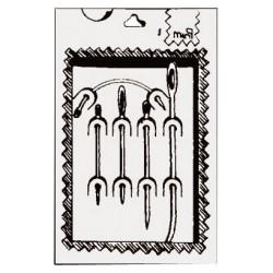 Kit de 5 aiguilles pour voiles