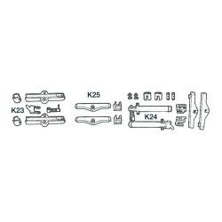 Kit K23, K24, K25 pour câbles