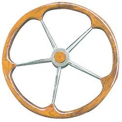 Barre à roue inox + teck