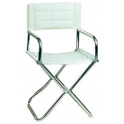 Chaise / tabouret pliants en cuir