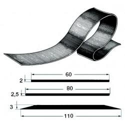 Profilés de quille ou latéraux