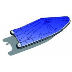 Bâche pour canots à pointe ronde