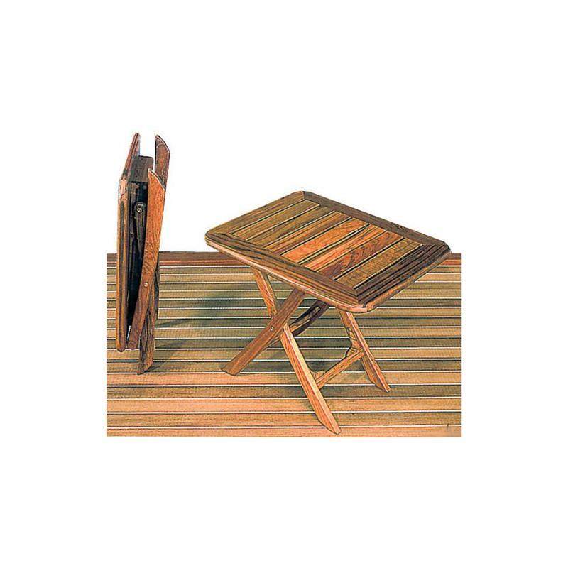 Petite table pliante teck