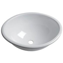 Evier ovale plexiglas