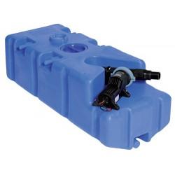 Réservoir eaux usées + broyeur