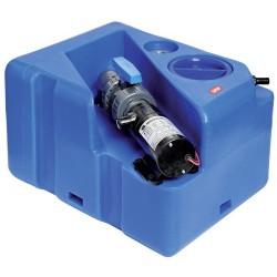 Kit réservoir eaux usées avec broyeur horizontal