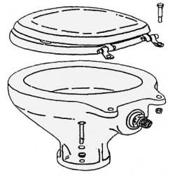 Porcelaine de rechange pour WC