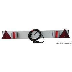 Barre arrière avec feux à LED