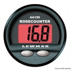 Compteur de mètres rond Lewmar