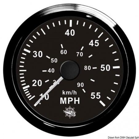 Speedomètre avec tube de Pitot
