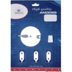 Kit anodes Yamaha 40/60 HP