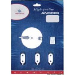 Kit anodes Yamaha 40/60 HP