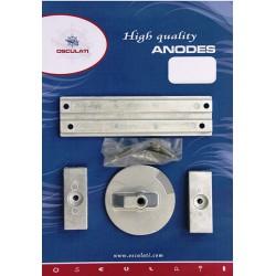 Kit anodes Mercury