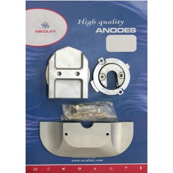 Kit anodes Mercruiser