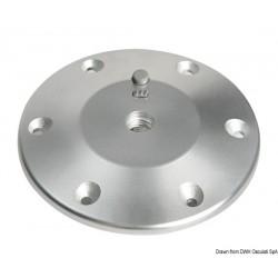 Base pour pied de table aluminium