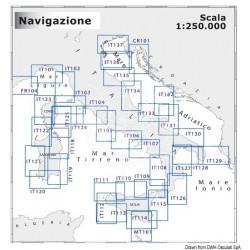 Cartographie navigation moyenne portée