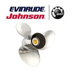 Hélice inox pour HB JOHNSON / EVINRUDE