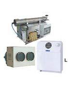 Gros appareils électriques pour bateaux : désalinisateurs, climatiseurs, générateurs électriques etc...
