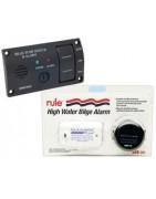 Panneaux et systèmes d'alarme pour pompe