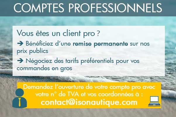 Clients professionnels : créez votre compte pro et bénéficiez d'une remise sur nos prix publics
